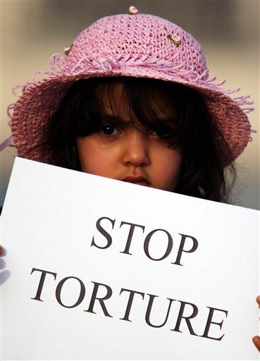 Bahrain Torture Protest