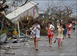APTOPIX Philippines Typhoon