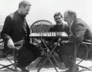 chess+lenin