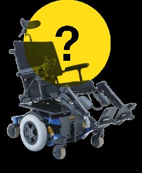 Wheelchair question mark